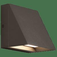 Pitch Single Outdoor Wall Single bronze 3000K 80 CRI led 80 cri 3000k 277v