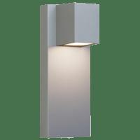 Quadrate Outdoor Wall silver 3000K-2200K 90 CRI led 90 cri 3000k-2200k 120v