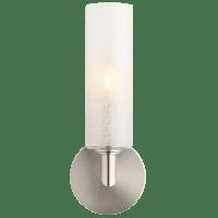 Vetra Wall Linen Satin Nickel No Lamp
