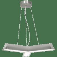 Zhane Trio Suspension Satin Nickel 3000K 80 CRI LED 80 CRI 3000v 120v