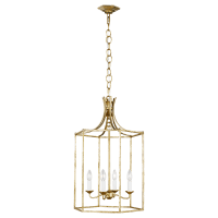 Bantry House Medium Lantern Antique Gild