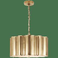 Markos Large Hanging Shade in Natural Brass