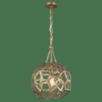Feccetta Medium Pendant Antique Gild
