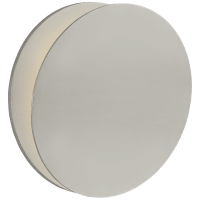 Gabriela Round Wall Washer in Polished Nickel