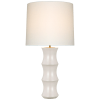 Marella Large Table Lamp in Ivory with Linen Shade