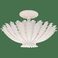 Hampton Small Chandelier in Plaster White