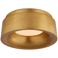 """Halo 5.5"""" Solitaire Flush Mount in Gild"""