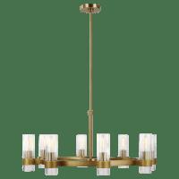 Geneva Chandelier Burnished Brass
