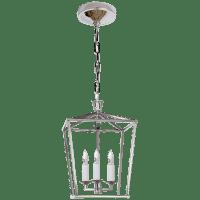 Darlana Mini Lantern in Polished Nickel