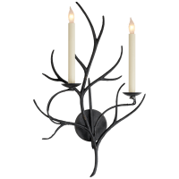 Branch Sconce in Aged Iron