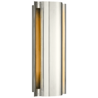 Jensen Small Wall Wash Sconce in Polished Nickel