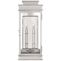 Linear Lantern Tall in Polished Nickel