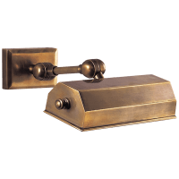 """Dorchester 8"""" Picture Light in Antique-Burnished Brass"""