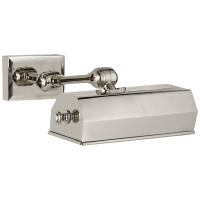 "Dorchester 8"" Picture Light in Polished Nickel"