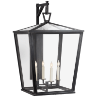 Darlana Large Bracket Lantern in Bronze