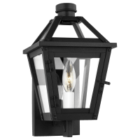 Hyannis Extra Small Wall Lantern Textured Black
