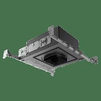 "3"" ELEMENT New Construction Adjustable Round Flanged Housing LED 2700K 80 CRI, 40, High Output"