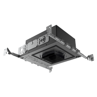 "3"" ELEMENT New Construction Adjustable Square Flangeless Housing LED Warm Dim, 25, Low Output"