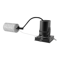 """3"""" ENTRA Square Adjustable & Wall Wash Remodel Housing 90 CRI, LED 4000K, Low Output"""