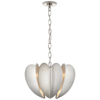 Danes Small Chandelier in Polished Nickel