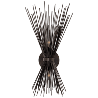 Strada Small Sconce in Aged Iron
