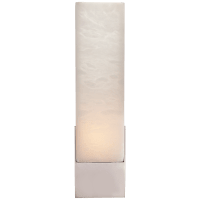 Covet Tall Box Bath Sconce in Polished Nickel