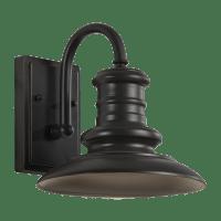 Redding Station Small LED Lantern Restoration Bronze Bulbs Inc