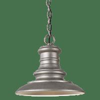 Redding Station LED Pendant Tarnished Silver Bulbs Inc