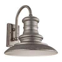 Redding Station Large Lantern Tarnished Silver