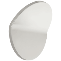 Bend Large Round Light in Polished Nickel