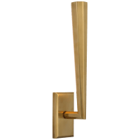 Galahad Single Sconce in Hand-Rubbed Antique Brass