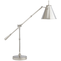 Goodman Table Lamp in Polished Nickel