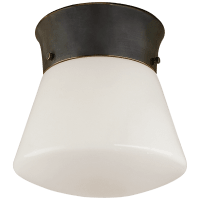 Perry Ceiling Light in Bronze