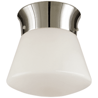Perry Ceiling Light in Polished Nickel