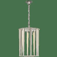 Galahad Medium Lantern in Polished Nickel