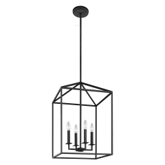 Perryton Medium Four Light Hall / Foyer Blacksmith