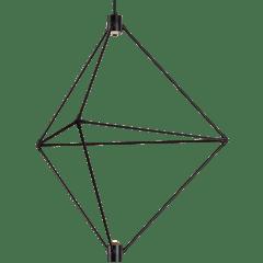 Candora 34 Chandelier matte black 3000K-2200K 90 CRI integrated led 90 cri 3000-2200k 120v (t24)