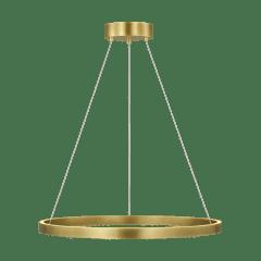 "Fiama 30 Suspension 30"" Diameter plated brass 3000K 90 CRI led 90 cri 3000k 120v-277v unv"