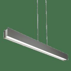 Vandor Linear Suspension Gray Rubberized satin nickel 3000K 80 CRI led 80 cri 3000k 120v