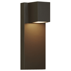 Quadrate Outdoor Wall bronze 3000K-2200K 90 CRI led 90 cri 3000k-2200k 120v