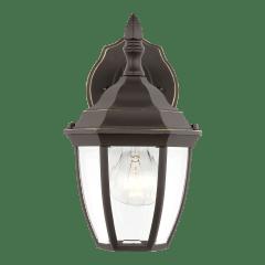Bakersville Small One Light Outdoor Wall Lantern Antique Bronze