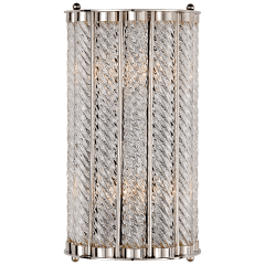 Eaton Sconce in Polished Nickel
