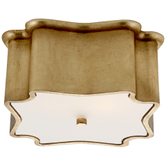 Bolsena Deco Flush Mount in Gild