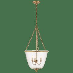 Pondview Medium Jar Lantern in Hand-Rubbed Antique Brass