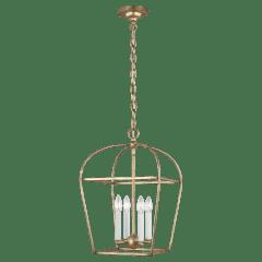 Stonington Small Lantern Antique Gild