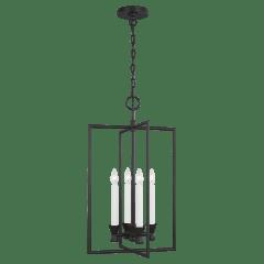Keystone Lantern Aged Iron