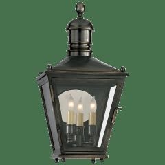 Sussex Small 3/4 Lantern in Bronze