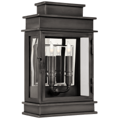 Linear Lantern Short in Bronze