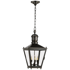 Sussex Medium Hanging Lantern in Bronze