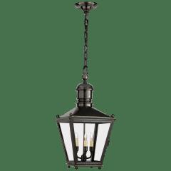 Sussex Medium Hanging Lantern in Bronze